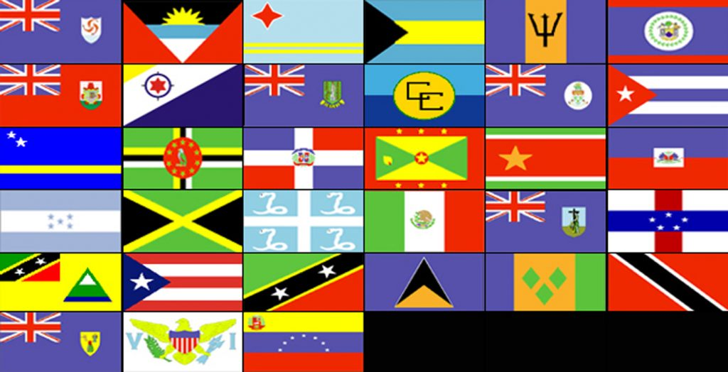 Caribbean-Flags 2